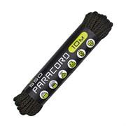 Шнур паракорд 550 CORD nylon 10м black snake