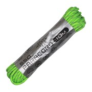 Шнур паракорд 550 CORD nylon 10м neon green