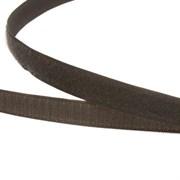 Лента липучка велкро с ответкой 25мм олива метр погонный