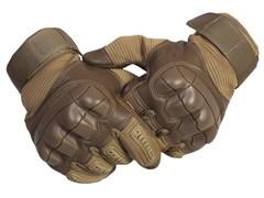 Перчатки тактические с дополнительной защитой койот