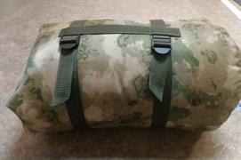Спальный мешок синтепон 2-х слойный 220х90 см мох