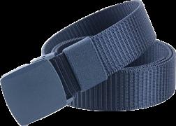 Ремень брючный с пластиковой пряжкой blue