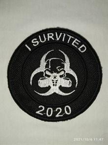 Шеврон на липучке I Survited 2020