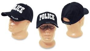 Кепка бейсболка Deluxe Police Navy