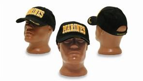 Кепка бейсболка Deluxe Marines Black