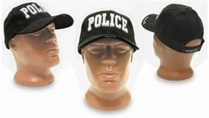 Кепка бейсболка Deluxe Police Black