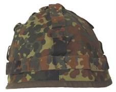 Чехол на каску Bundeswehr flecktarn б/у