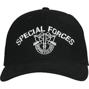 Кепка бейсболка Deluxe Special Forces Black