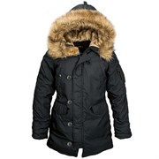 Куртка аляска женская Altitude W Parka Alpha Black