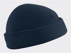 Шапка флис Helikon navy