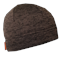 Шапка трикотажная/флисовая NordKapp коричневый меланж - фото 16414