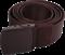 Ремень брючный с пластиковой пряжкой braun - фото 24176