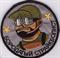 Шеврон на липучке Бородатый страйкболист - фото 9153